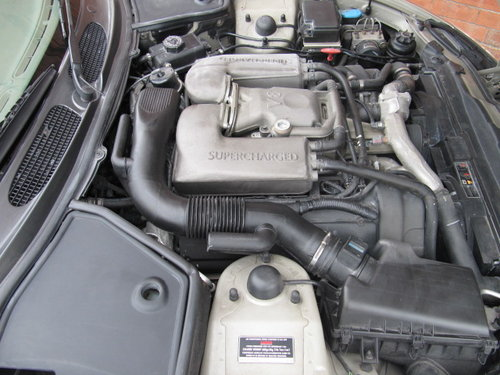1999 JAGUAR XKR COUPE 4.0 SUPERCHARGED AUTO ONLY 25000 MILES For Sale (picture 6 of 6)