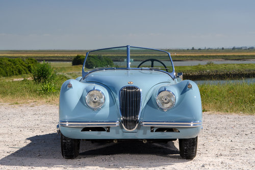 1954 JAGUAR XK120 SE ROADSTER LHD SOLD (picture 3 of 6)