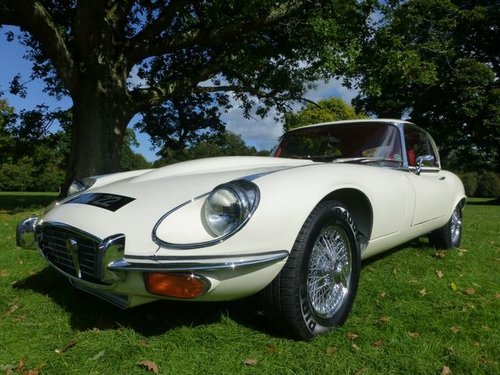 1973 Jaguar E Type S3 V12 2+2 manual For Sale (picture 2 of 6)