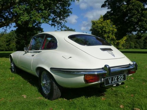 1973 Jaguar E Type S3 V12 2+2 manual For Sale (picture 3 of 6)