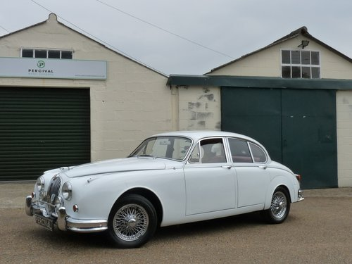 1966 Jaguar Mk11 3.8, manual gearbox with overdrive SOLD (picture 1 of 6)