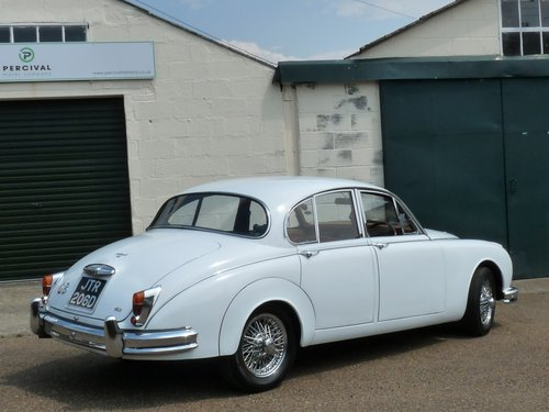1966 Jaguar Mk11 3.8, manual gearbox with overdrive SOLD (picture 2 of 6)