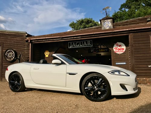 2013 JAGUAR XK 5.0 CONVERTIBLE, 4,000 MILES 1 PREVIOUS KEEPER! SOLD (picture 1 of 6)
