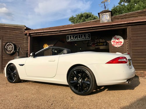 2013 JAGUAR XK 5.0 CONVERTIBLE, 4,000 MILES 1 PREVIOUS KEEPER! SOLD (picture 2 of 6)