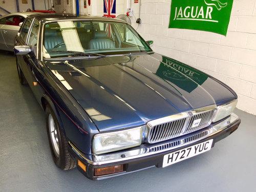 1991 Jaguar XJ40 3.2 Sovereign - Low Miles Magnificent Condition! For Sale (picture 1 of 6)