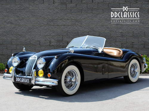 1955 Jaguar XK140 MC Roadster For Sale in London ( LHD  SOLD (picture 1 of 6)