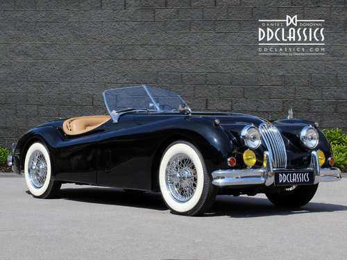 1955 Jaguar XK140 MC Roadster For Sale in London ( LHD  SOLD (picture 2 of 6)