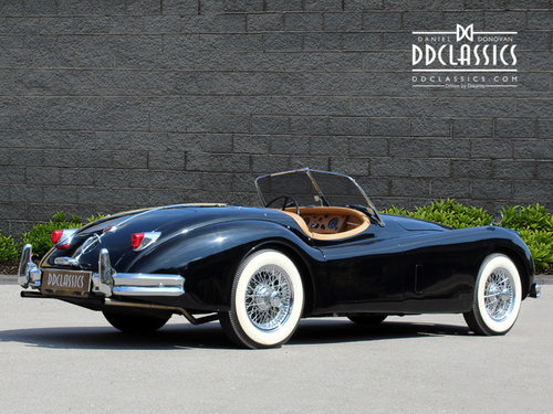 1955 Jaguar XK140 MC Roadster For Sale in London ( LHD  SOLD (picture 3 of 6)