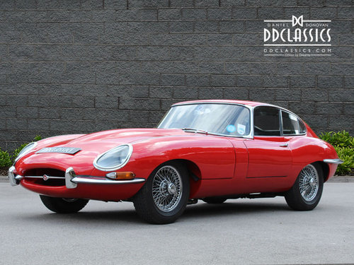 1966 Jaguar E Type 4.2 Series I Fixed Head Coupe RHD SOLD (picture 1 of 6)