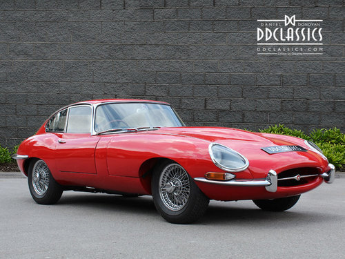 1966 Jaguar E Type 4.2 Series I Fixed Head Coupe RHD SOLD (picture 2 of 6)