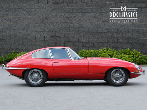 1966 Jaguar E Type 4.2 Series I Fixed Head Coupe RHD SOLD (picture 3 of 6)