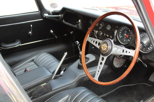 1966 Jaguar E Type 4.2 Series I Fixed Head Coupe RHD SOLD (picture 5 of 6)