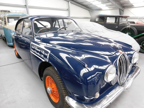 1963 THE PINK FLOYD CARERRA PAN AMERICANA JAGUAR NOW RESTORED For Sale (picture 1 of 6)