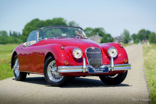 1958 JAGUAR XK 150 OTS EXCELLENT CONDITION MATCHING NUMBERS For Sale (picture 1 of 6)