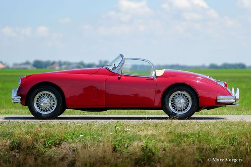 1958 JAGUAR XK 150 OTS EXCELLENT CONDITION MATCHING NUMBERS For Sale (picture 3 of 6)
