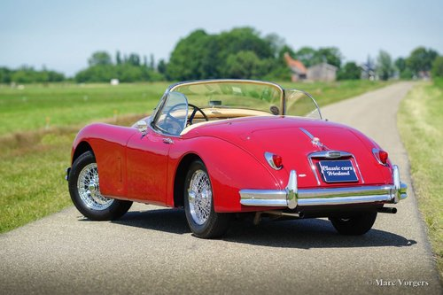 1958 JAGUAR XK 150 OTS EXCELLENT CONDITION MATCHING NUMBERS For Sale (picture 4 of 6)