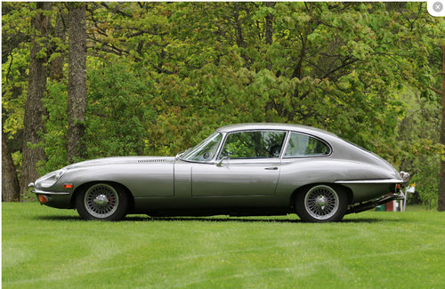 1969 Jaguar E-Type 2+2 - matching numbers! For Sale (picture 5 of 6)