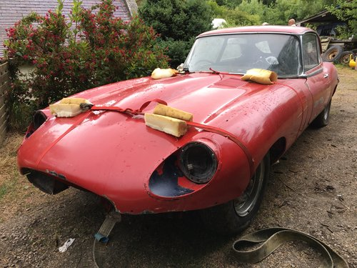 1969 Jaguar E-Type 2+2 Series 2 - Restoration Project SOLD (picture 1 of 6)