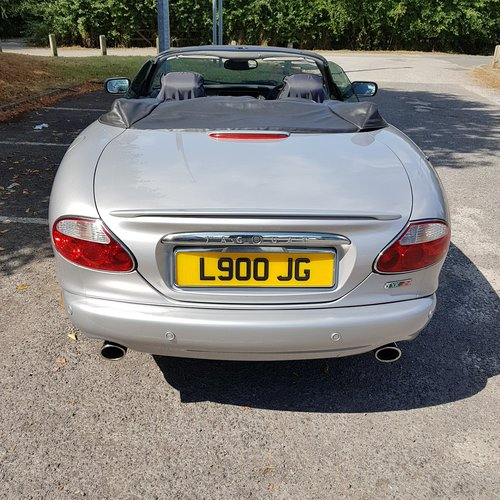 2001 JAGUAR XKR CONVERTIBLE For Sale (picture 3 of 6)