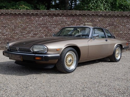 1986 Jaguar XJ-SC V12 HE only 56.647 kms from new, European car! For Sale (picture 1 of 6)
