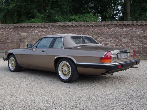 1986 Jaguar XJ-SC V12 HE only 56.647 kms from new, European car! For Sale (picture 2 of 6)