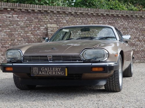 1986 Jaguar XJ-SC V12 HE only 56.647 kms from new, European car! For Sale (picture 5 of 6)