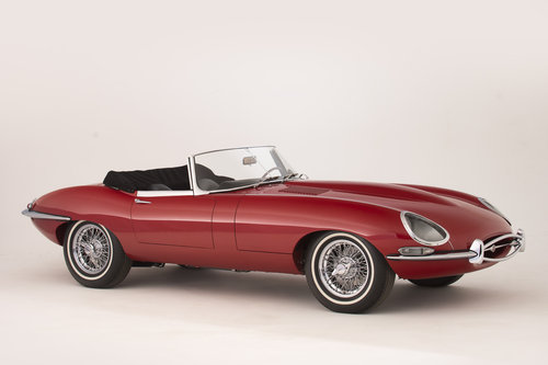1961 Jaguar Series 1 E-Type 3.8  Pumpkin Head Roadster LHD For Sale (picture 1 of 6)