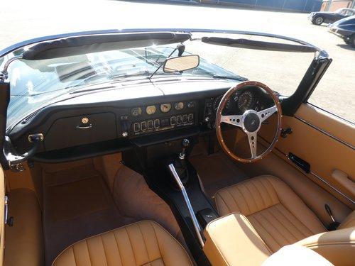 1972 Jaguar E Type V12 Roadster SOLD (picture 3 of 6)