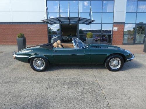 1972 Jaguar E Type V12 Roadster SOLD (picture 5 of 6)