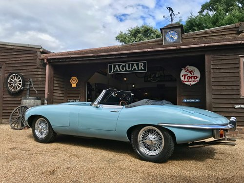 1969 JAGUAR E-TYPE S2 ROADSTER, U.K. RIGHT-HAND DRIVE SOLD (picture 2 of 6)