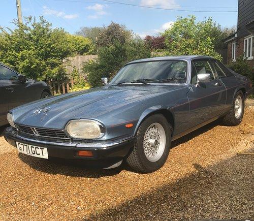 1989 Restored Jaguar 3.6 XJS Auto For Sale (picture 1 of 6)