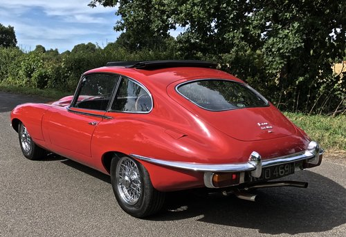 1969 JAGUAR E TYPE SERIES II 2+2 Coupe Auto   last owner 25 years For Sale (picture 2 of 6)