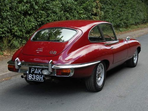 1970 Jaguar E-Type Series II 2+2, Manual UK Matching Numbers SOLD (picture 3 of 6)