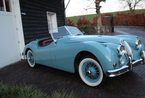 UNIQUE JAGUAR  XK140  SE  1956     LHD    For Sale (picture 1 of 6)