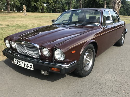 1983 Jaguar XJ6 totally Original Low mileage Service History SOLD (picture 1 of 6)