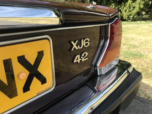 1983 Jaguar XJ6 totally Original Low mileage Service History SOLD (picture 3 of 6)