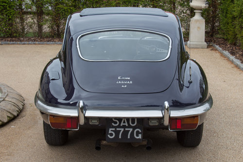 1968 Jaguar E-Type Series 2 Coupe | Original RHD SOLD (picture 3 of 6)