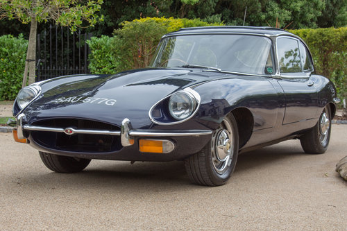 1968 Jaguar E-Type Series 2 Coupe | Original RHD SOLD (picture 4 of 6)