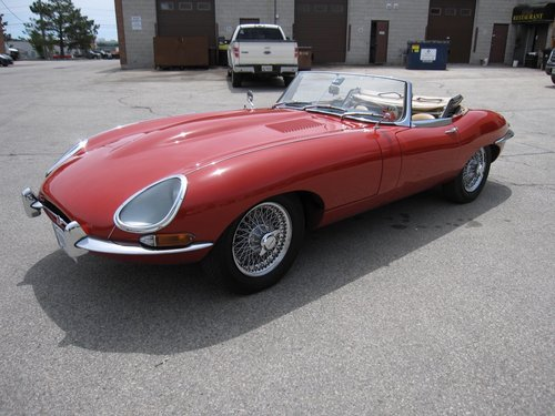 1962 Jaguar XKE Series 1 3,8 ltr OTS SOLD (picture 1 of 6)