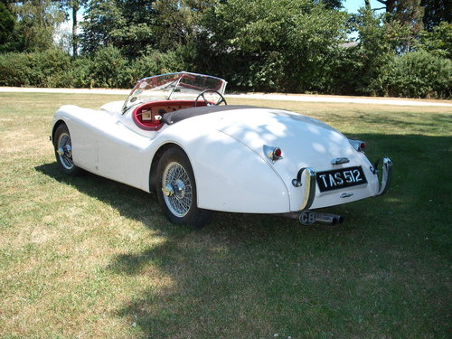 Jaguar XK 120 3.4 Roadster 1954 8k Miles Since Overhaul OTS SOLD (picture 3 of 6)