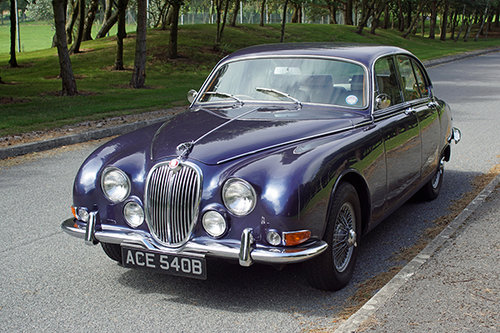1964 Jaguar S-Type Hire | Hire a self-drive S-Type in Yorkshire For Hire (picture 1 of 6)