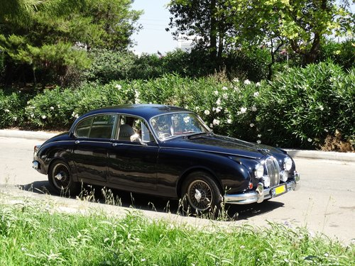1963 Jaguar Mk2 3.8 auto w overdrive For Sale (picture 1 of 6)