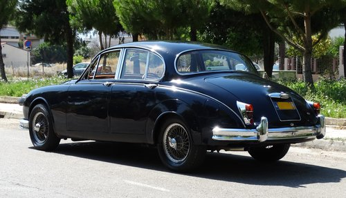 1963 Jaguar Mk2 3.8 auto w overdrive For Sale (picture 3 of 6)