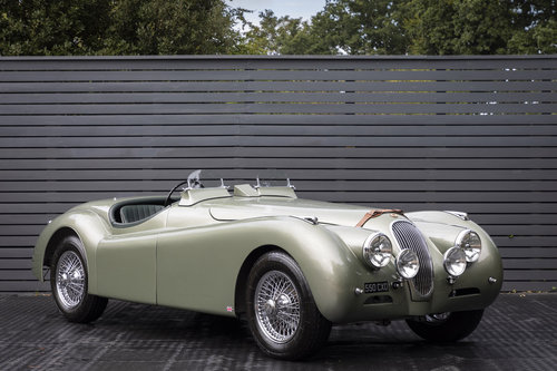 1951 JAGUAR XK 120 OTS 3.4, ALLOY BODY SOLD (picture 1 of 6)