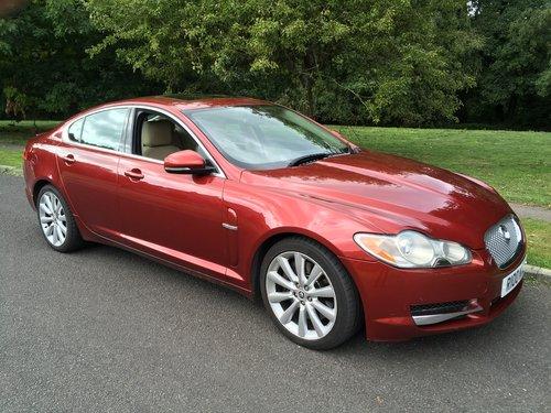 2009 Jaguar XF  S. Diesel Sport Luxury SOLD (picture 1 of 6)
