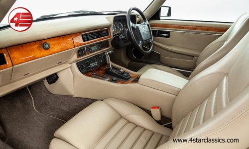 1993 Jaguar XJS 6.0 V12 /// FSH /// 34k Miles For Sale (picture 4 of 6)