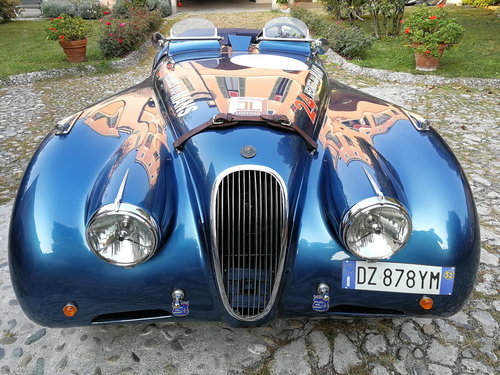 1952 1000MIGLIA ELIGIBLE  JAGUAR XK120 ROADSTER  For Sale (picture 1 of 6)