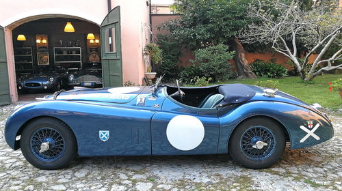 1952 1000MIGLIA ELIGIBLE  JAGUAR XK120 ROADSTER  For Sale (picture 2 of 6)
