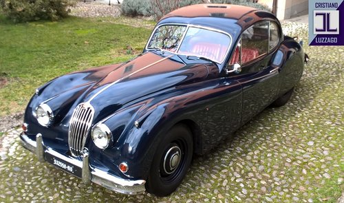 1956 RARE 1 OF 843 JAGUAR XK 140 FHC RHD PRODUCED For Sale (picture 1 of 6)