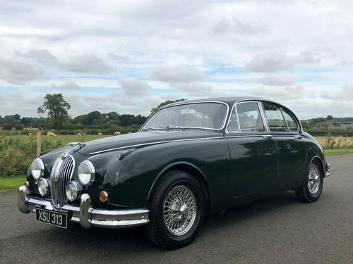 1961 Jaguar MK II 3.8 Manual Overdrive SOLD (picture 1 of 6)